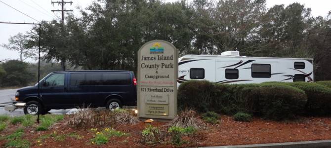 James Island County Park Campground, Charleston, S.C.