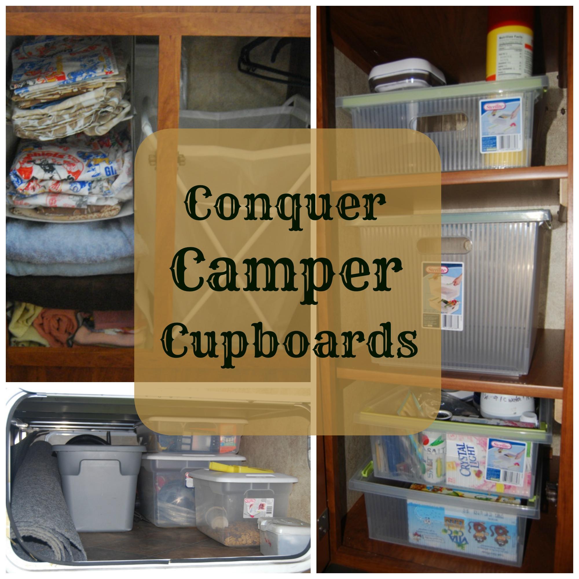 Conquer Camper Cupboards