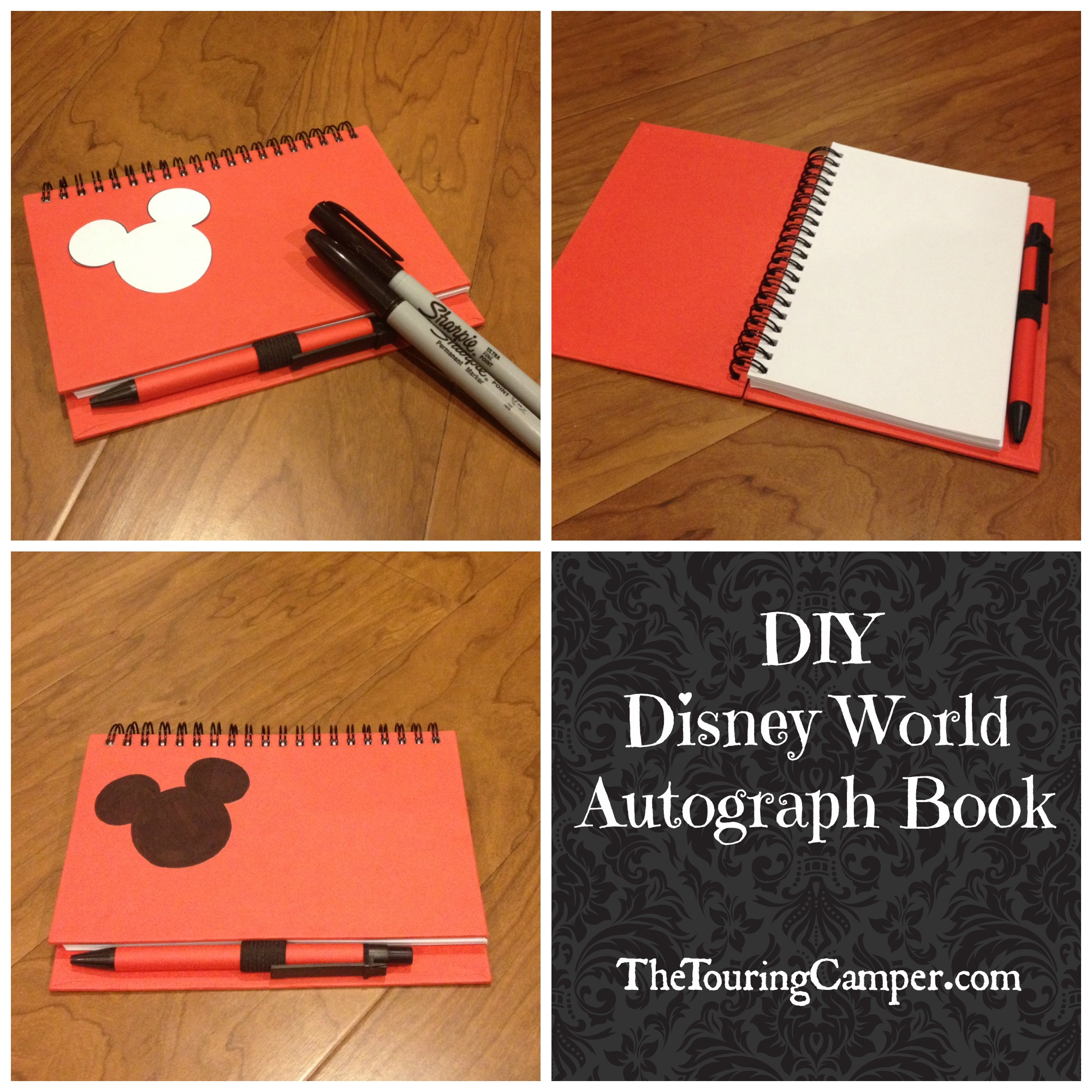 photograph relating to Printable Disney Autograph Book called Do it yourself Disney autograph ebook