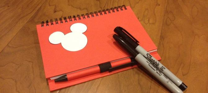 DIY Disney Autograph Book