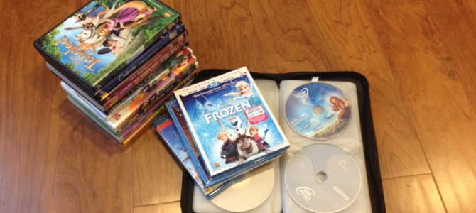 Space Saving Strategies: DVDs