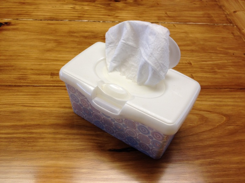 Wipes are awesome! TheTouringCamper.com