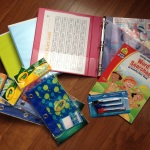 DIY kids' travel activity binder