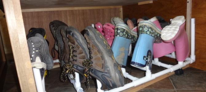 Space Saving Strategies: Shoe Storage