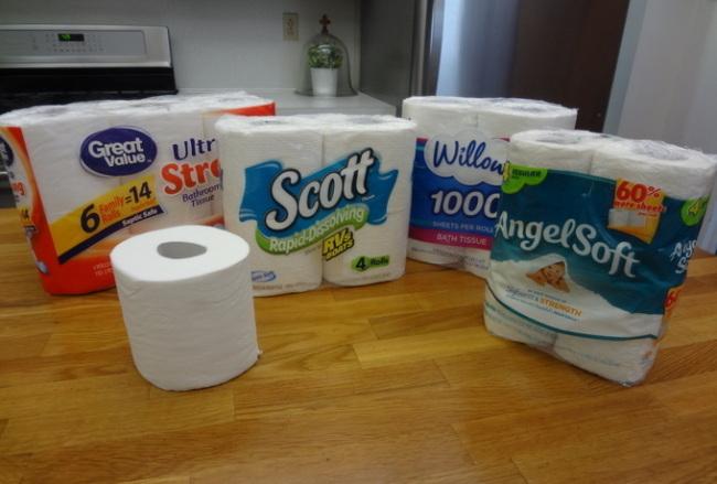 Camper toilet paper