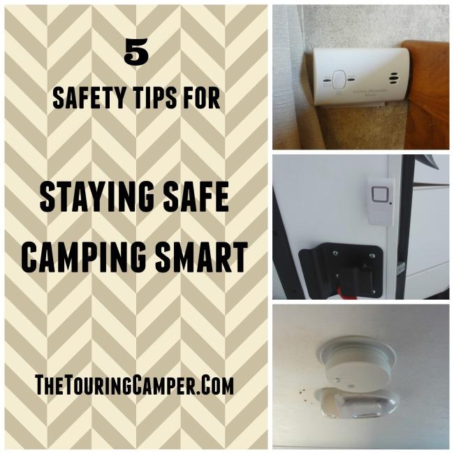 Staying safe, camping smart