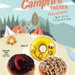 Krispy Kreme goes camping!