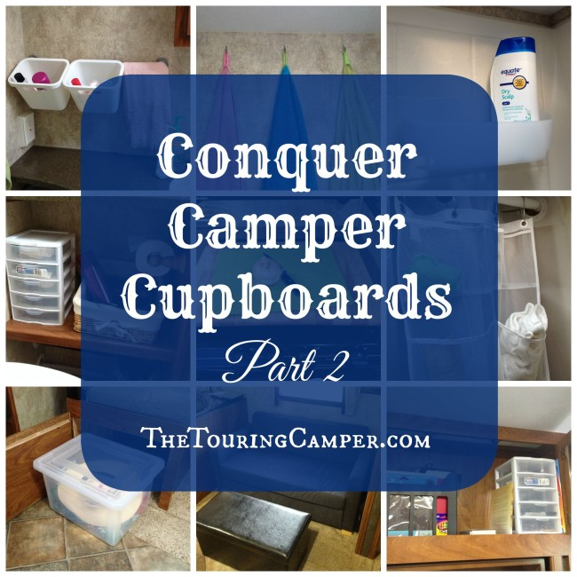 Conquer Camper Cupboards Part 2
