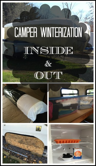 Camper Winterization, Inside and Out