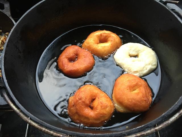 Campfire Doughnuts