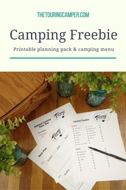 Free camping printable planning pack