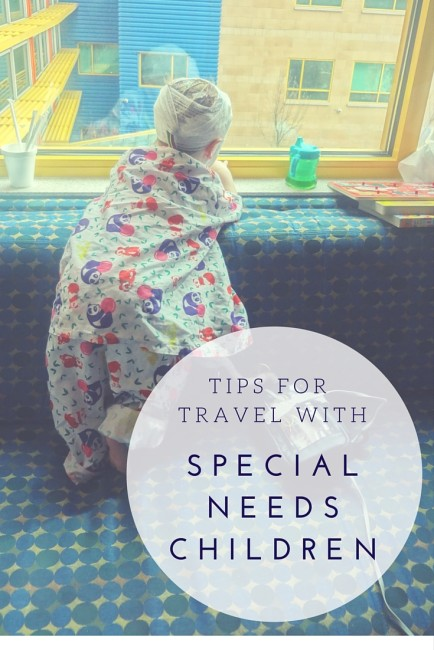 How to travel with special needs children