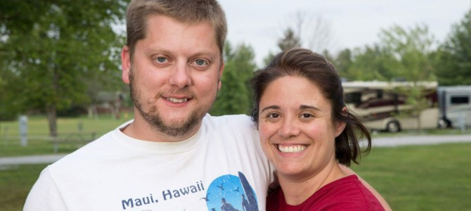 Faces of the Campground: Bob and Kristin