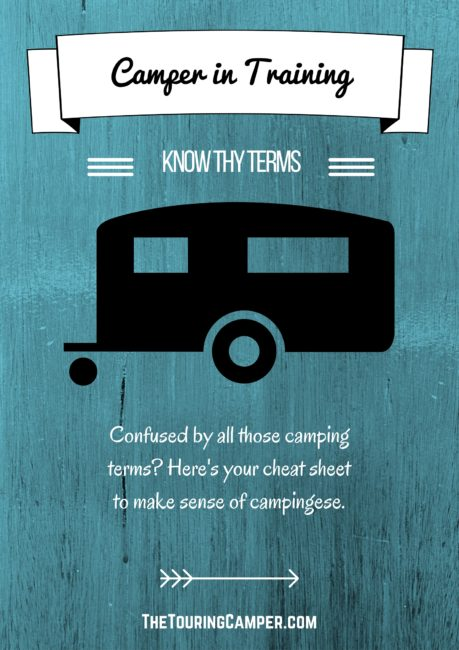 Camper in Training: Know thy terms