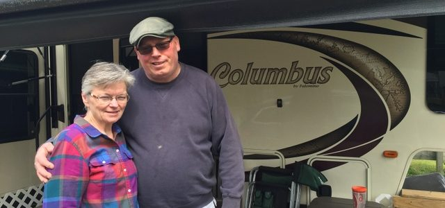 Faces of the Campground: Mike and Joyce