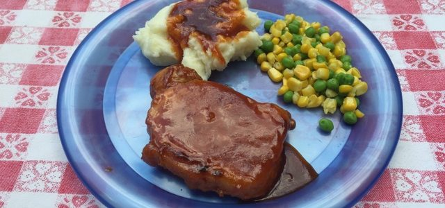 Monthly Morsel: Ponderosa Pork Chops